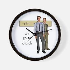 Gay Christian Wall Clock