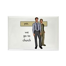 Gay Christian Rectangle Magnet (10 pack)