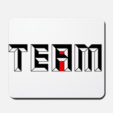 The I in Team Mousepad