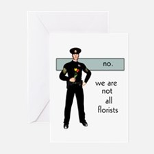 Gay Cop Greeting Cards (Pk of 10)