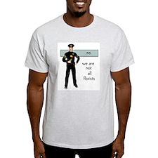 Gay Cop Ash Grey T-Shirt
