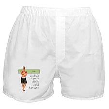 Gay Disney World Boxer Shorts