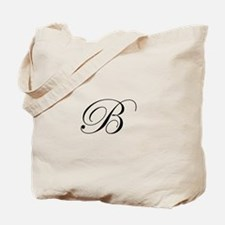 Edwardian Script-B.png Tote Bag