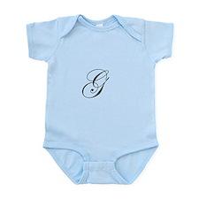 Edwardian Script-G.png Infant Bodysuit