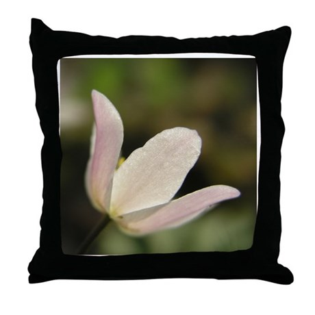 Symetry in nature Throw Pillow