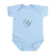 Edwardian Script-Y.png Infant Bodysuit