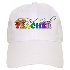 First Grade Teacher Baseball Cap