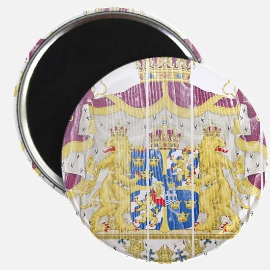 """Sweden Coat Of Arms 2.25"""" Magnet (10 pack)"""