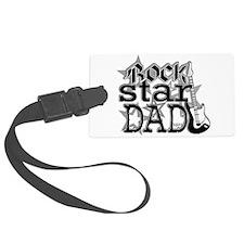 Rockstar Dad Luggage Tag