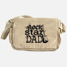 Rockstar Dad Messenger Bag