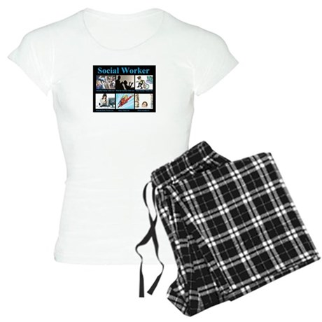 Social-Work-Funny.jpg Women's Light Pajamas