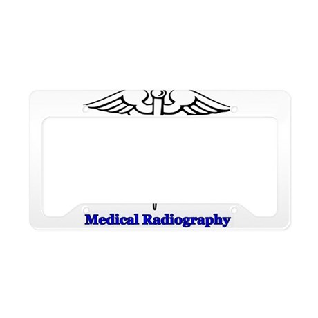 Medical Radiography License Plate Holder