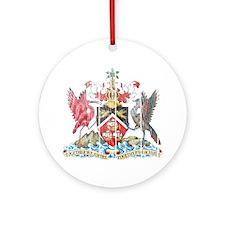 Trinidadand Tobago Coat of Arms wood.png Ornament