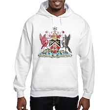 Trinidadand Tobago Coat of Arms wood.png Hoodie