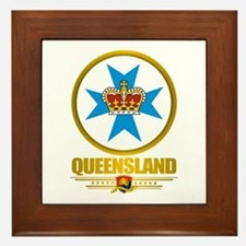 Queensland Emblem Framed Tile