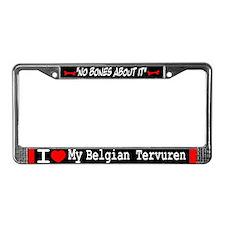 NB_Belgian Tervuren License Plate Frame