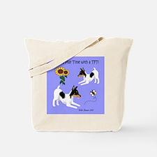 TFT Puppy Tote Bag