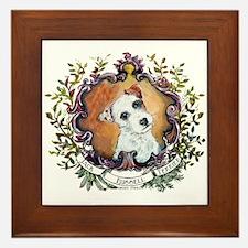Vintage Jack Russell Terrier Framed Tile