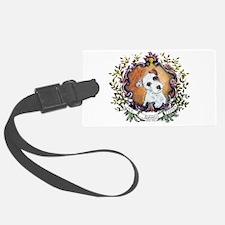 Vintage Jack Russell Terrier Luggage Tag