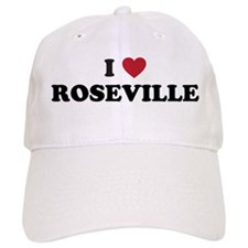 I Love Roseville Baseball Cap