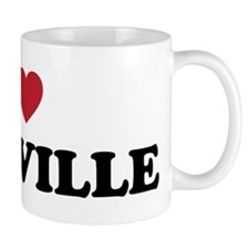 I Love Roseville Small Mug