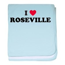 I Love Roseville baby blanket