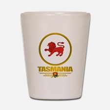 Tasmania Emblem Shot Glass