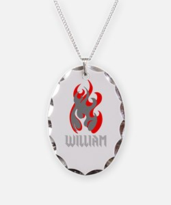 William Fire Necklace