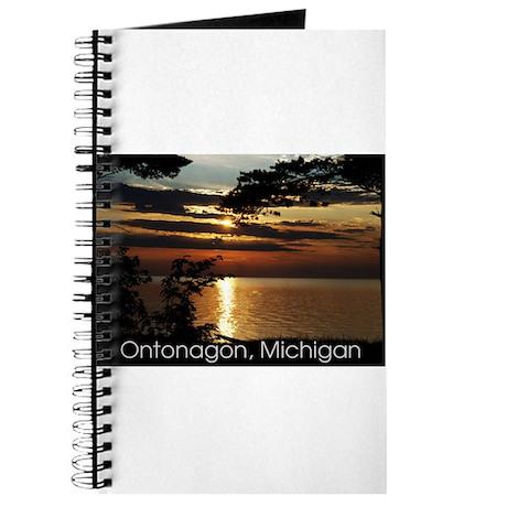 Ontonagon, Michigan Sunset Journal