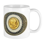 Indian gold oval 3 Mug