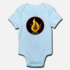 William Flames Infant Bodysuit