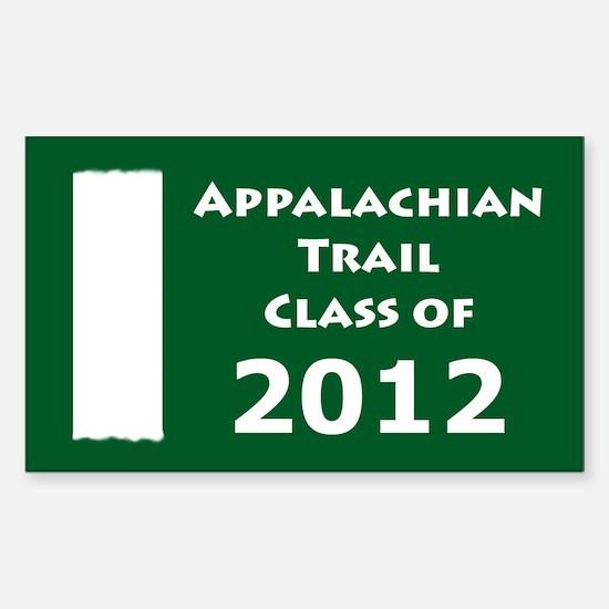 Appalachian Trail Class Of 2012 Decal