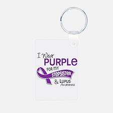 I Wear Purple 42 Lupus Keychains