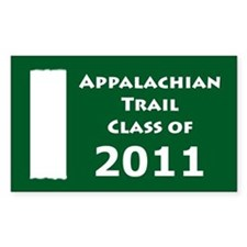 Appalachian Trail Class Of 2011 Decal