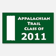 Appalachian Trail Class Of 2011 Decal
