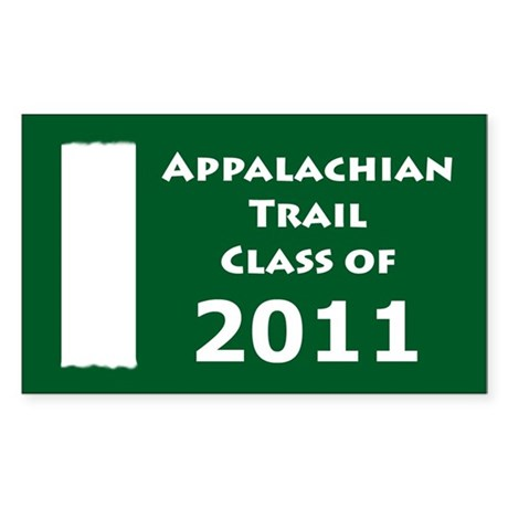 Appalachian Trail Class Of 2011 Sticker