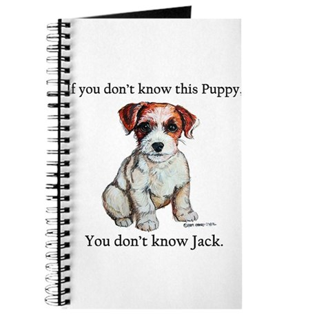 Don't Know Jack Russell Journal