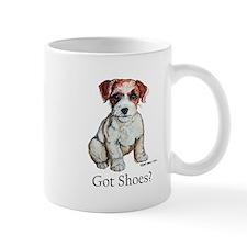 Jack Russell Shoes Mug