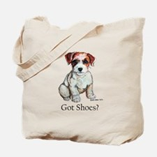 Jack Russell Shoes Tote Bag