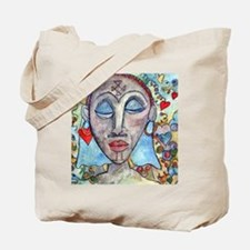 African Valentine Tote Bag