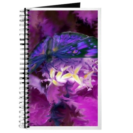 Purple Butterfly Art Journal