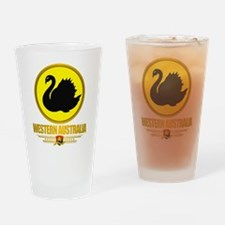 Western Australia Emblem Drinking Glass