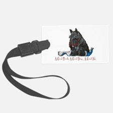 Scottish Terrier Book Luggage Tag