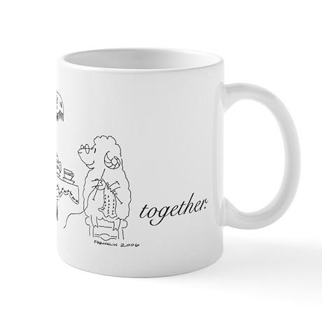 """""""Knit Two Together"""" Mug"""