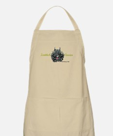 Scottish Terrier Tattoo Art Apron