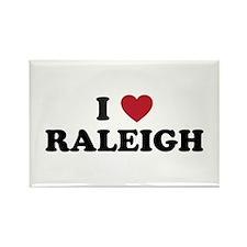I Love Raleigh North Carolina Rectangle Magnet