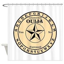 Ouija Round Shower Curtain