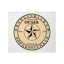 Ouija Round Throw Blanket