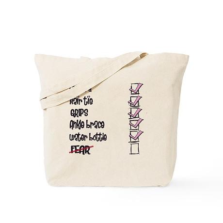 Gymnastics Checklist Tote Bag