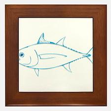 Tuna is Art Framed Tile
